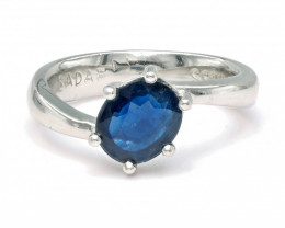 1.51ct. Sapphire Top Quality Gemstone. Silver925 Ring.DBS 207