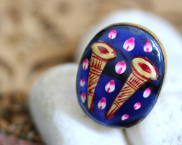 Unique and Custom Curated Hand Made Ring  RT-25