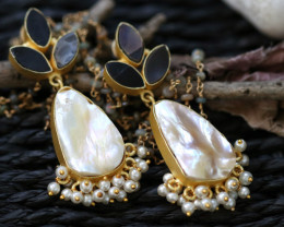 Unique and Custom Curated Hand Made Earrings  RT-77