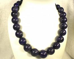 1931.0 Tcw. Deep Blue Lapis Lazuli Necklace - Gorgeous