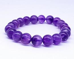 Natural Purple Amethyst Bracelet 143 Carats