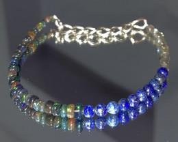 natural mixed gemstone bracelet 441