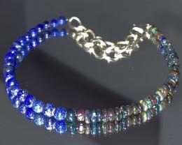 natural mixed gemstone bracelet 448