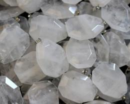 Wholesale 10 pcs Large Polyhedron Rock Crystal Pendants  AHA 721