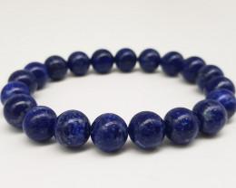 Lapis Lazuli Bracelet 137.00 Carats 10mm