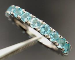 Natural Apatite Band Ring