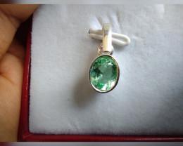 Colombian Emerald pendant from Muzo  2.00 cts