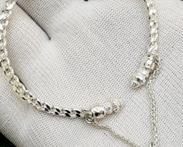 Natural New Design 925 Silver Bracelet