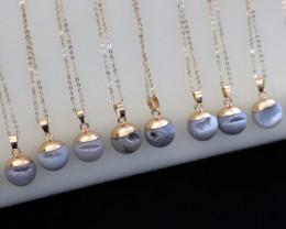 Wholesale 10 pcs Agate Crystal Kiss PendantsAHA 850