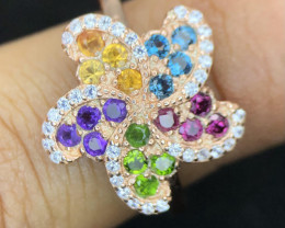 BEDAZZLING-MULTI STONE-RING