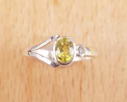 Natural Sphene Ring