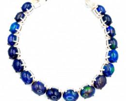Natural Blue Opal Bracelet