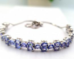 Natural Tanzanite Bracelet