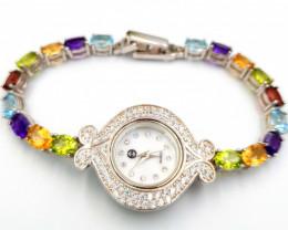 Natural Mix Stones Beautiful Watch