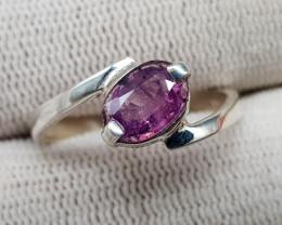 Natural Rare Sapphire Hand Made Ring 13.15 Carats