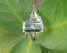 Natural Beautiful Aquamarine Ring