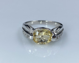 Natural Citrin  Top Class Finishing Ring LP8