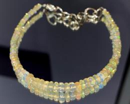 15.25 Crts Natural Ethiopian Welo Opal Bracelet 88