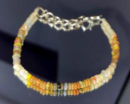 12.60 Crts Natural Ethiopian Welo Opal Bracelet 82