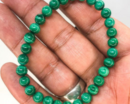 Genuine Premium Malachite Strechable Bracelet