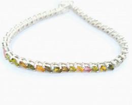 Natural Tourmaline Bracelet