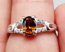 Sphene Ring | Women Ring | 925 Silver Ring | Natural Sphene Ring