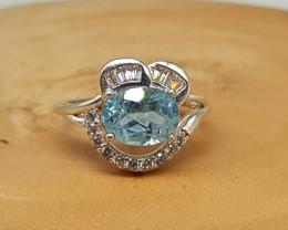 Topaz Ring | Women Ring | 925 Silver Ring | Natural Topaz Ring