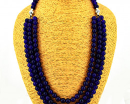 Genuine 589.00 Cts Amethyst  beads Necklace
