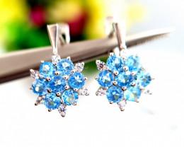 Natural Apatite Earrings