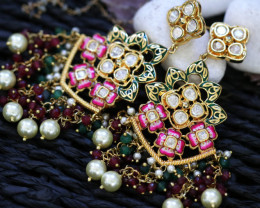 Unique and Custom Curated Hand Made Earrings RT-88