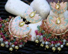 Unique and Custom Curated Hand Made Earrings  RT-98