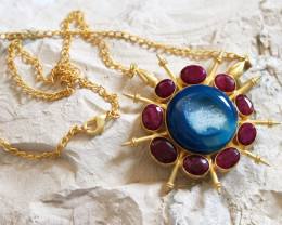 Unique and Custom Curated Hand Made Necklace RT-153
