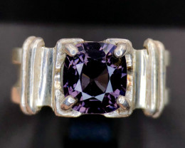 26.6ct Attractive Stunning Spinel Handmade  Silver 925 Ring
