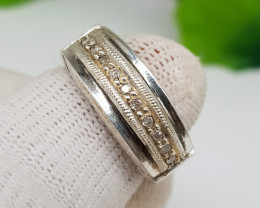 Natural Diamond Ring 51.20 Carats Hand Made
