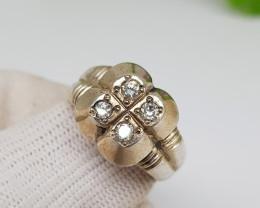 Natural Diamond Ring 42.35 Carats Hand Made