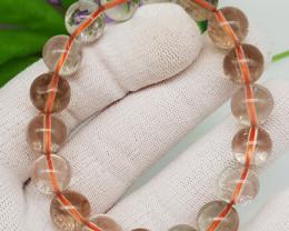 Natural Rutile Quartz Bracelet 171.00 Carats