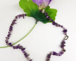 Natural Amethyst 118.00 Carats Necklace