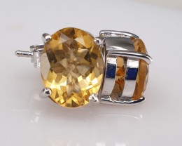 Natural Gorgeous Citrine Earrings