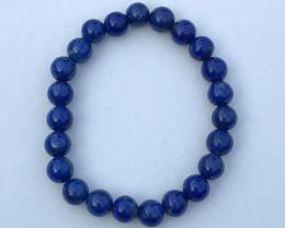 22.61 Ct Natural Dark  Blue Lapis Beads Pendants