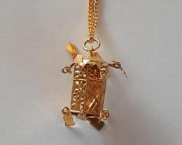 LANTERN 14K Gold Pendant  Code 1910009_2