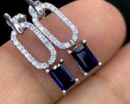 No Reserve~ Elegant~ Iolite~ Earrings