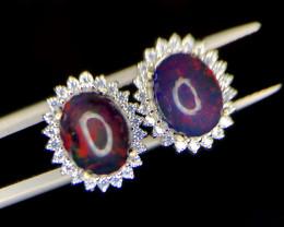 No Reserve~Beautiful Opal~Earrings