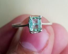 Natural Tourmaline 8.10 Carats Hand Made Ring