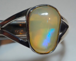 8size Natural Ethiopian Welo Opal .925 Sterling Silver
