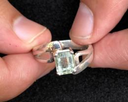 22 carats Tourmaline Ring 925 Silver