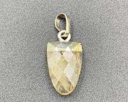 Natural Beautiful Citrine Pendant. Ctr-859