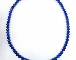Natural Blue Lapis Lazuli Necklace