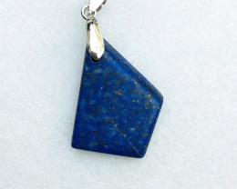 41.45 Ct Natural Blueish Transparent Lapis Pendent Solid silver 925