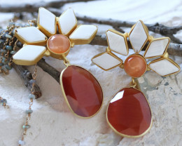 Unique and Custom Curated Hand Made Earrings  RT-186