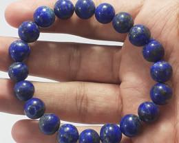 165.75 Carats Natural Lapis Lazuli Bracelet